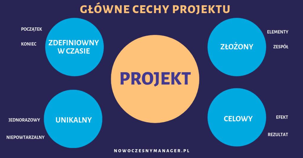 Projekt. Główne cechy projektu