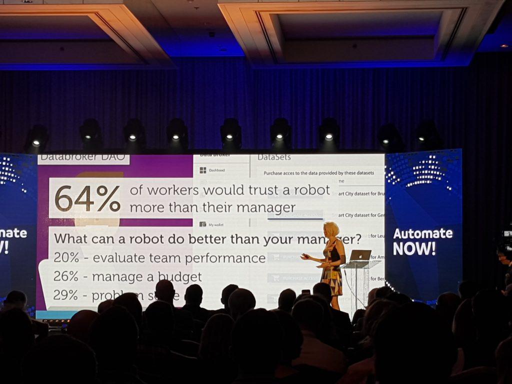 Ludzie ufają robotom bardziej niż przełożonym